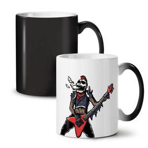 Rock Skull Music NEW Colour Changing Tea Coffee Mug 11 oz   Wellcoda