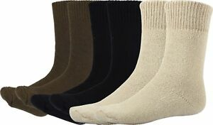 Image is loading Cold-Weather-Heavyweight-Thermal-Military-Issue-Boot-Socks- de2f09994ba