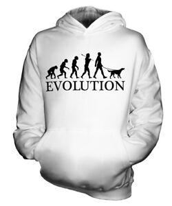 GORDON SETTER EVOLUTION HUND KINDER KAPUZENPULLOVER HOODIE JUNGEN