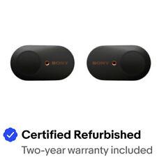 Sony WF1000XM3 Noise Canceling True Wireless Earbuds - Black