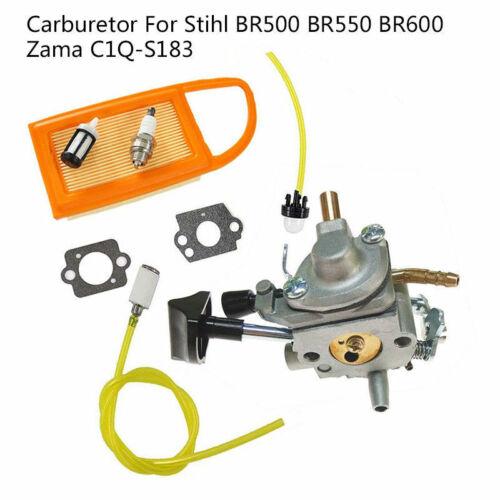 Carburetor  Kit Fit Stihl BR500 BR550 BR600 Backpack Blower Zama C1Q-S183 carb #