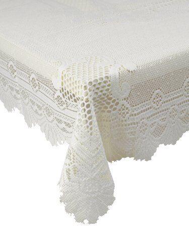"""Traditionnel Floral Crème Dentelle Tache libération Table Cloth 36/"""" Square £ 7.99 chaque"""