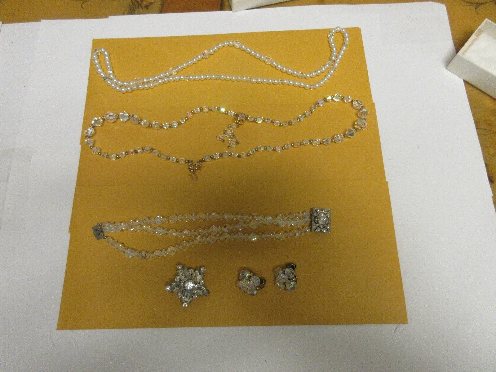 Costume Jewelry ,Vintage , Mixed Lot , Necklace (2) , B