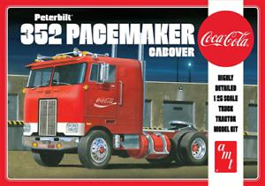 AMT 1090 Peterbilt 352 Pacemaker Cabover Coca Cola 1 24 Scale Kit