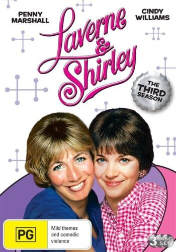 1 of 1 - LAVERNE AND SHIRLEY: SEASON 3 New DVD R4 TV Series