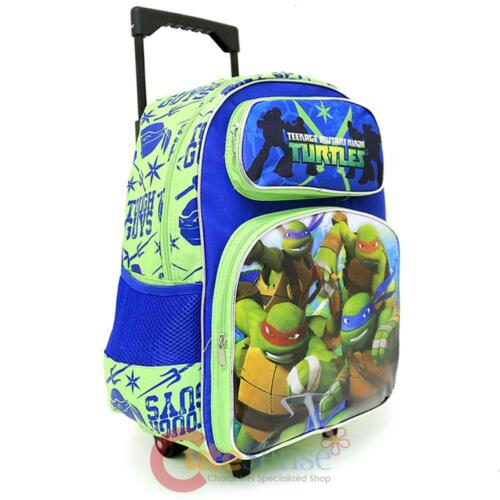 SacLunchTough SacDosRouleaux Avec Grand Tmnt Ninja Turtles Scolaire YgyvbfI76m