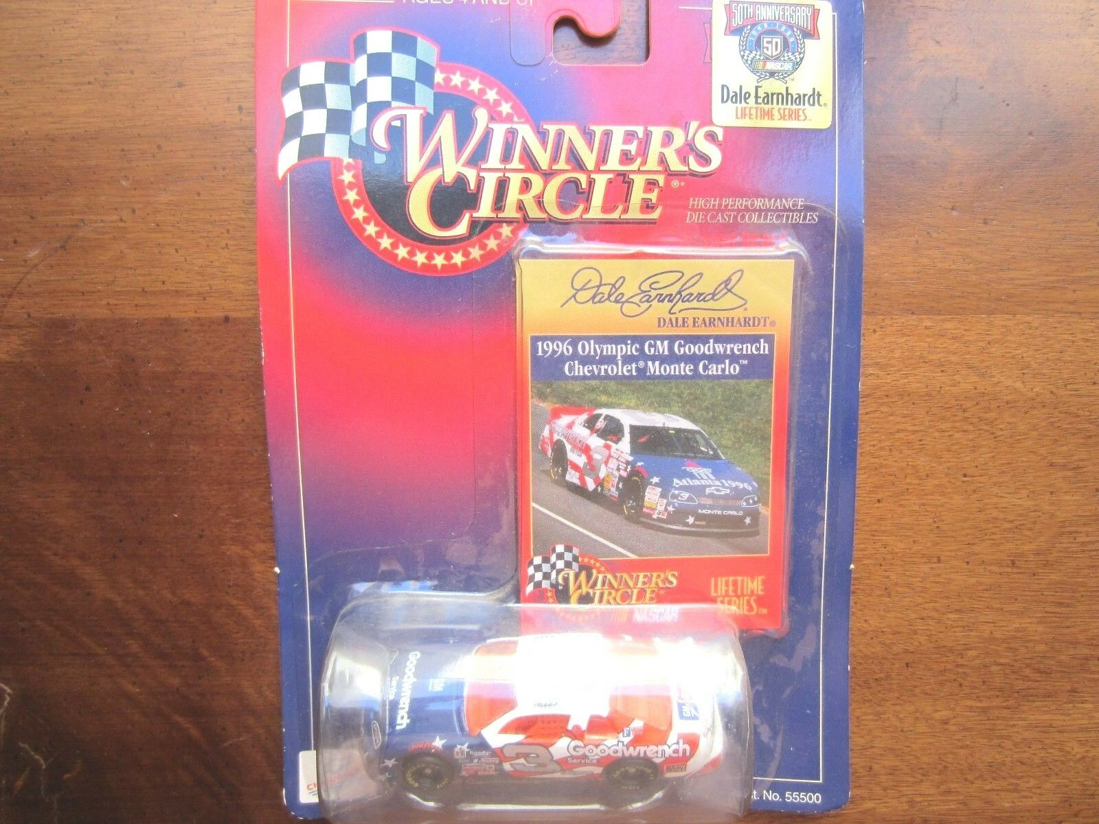 NASCAR 1993 Winner Circle Dale Earnhardt  64 Die Cast Good Wrench car, new