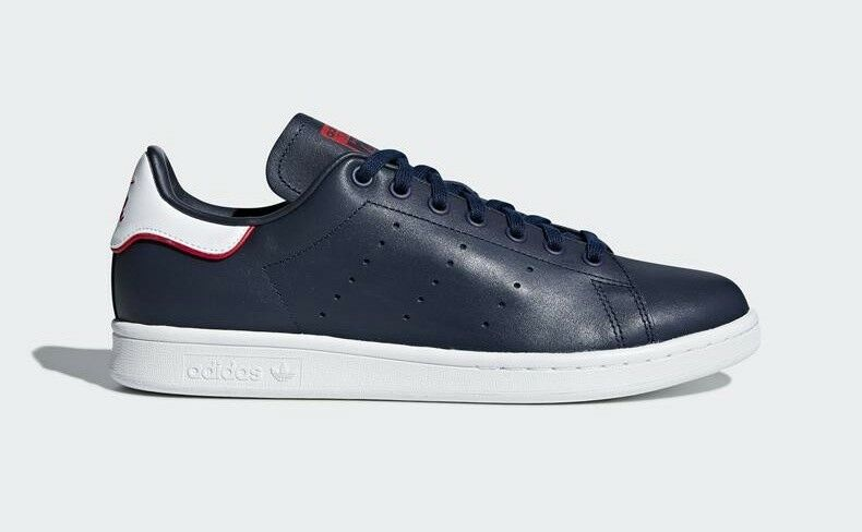 ADIDAS STANSMITH NAVY STYLE SHOES LEATHER B37912