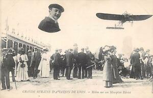 CPA-GRANDE-SEMAINE-D-AVIATION-DE-LYON-MOLON-SUR-SON-MONOPLAN-BLERIOT