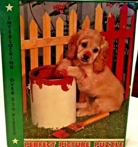 Vintage-Tuco-Deluxe-Picture-Puzzle-Ill-Be-Dog-Gone-Complete-1940-039-s