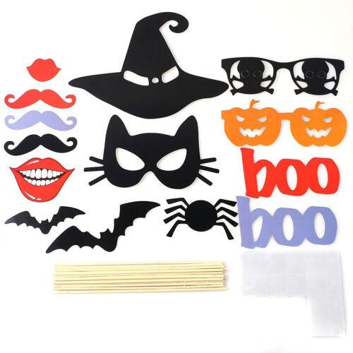 14X Photo Lèvre Moustache Lunette Masque Tige Fête Déguisement Halloween Mariage