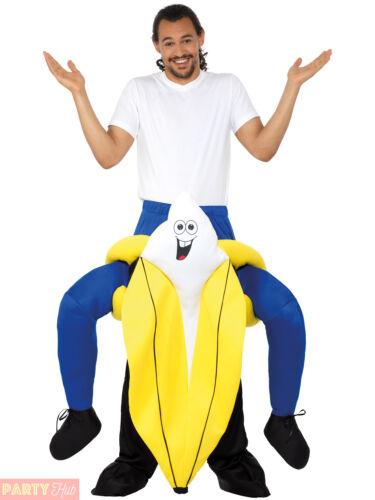 Adult Piggyback Banana Kangaroo Parrot Costume Mens Ladies Novelty Animal Outfit
