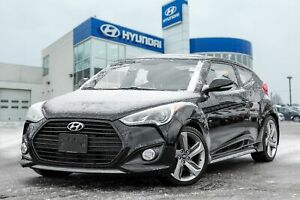 2013 Hyundai Veloster Turbo, NAVIGATION, BACKUP CAM, PANO ROOF, LEATHER