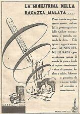 W4288 Pastina GABY - La minestrina della ragazza malata - Pubblicità del 1930