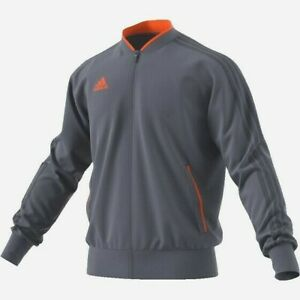 Details about ADIDAS CONDIVO 18 PES JACKET ONIXORANGE AGE 1314YRS BNWT