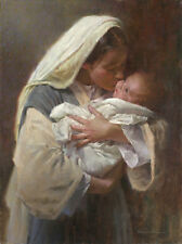 """""""Kissing the Face of God"""" Morgan Weistling Fine Art Giclee Canvas"""