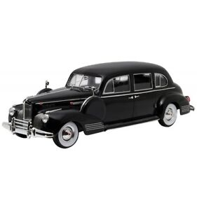 Parrain 80y 1941 Greenlight One Packard Eight Collectibles Blac Le Super qERFyv