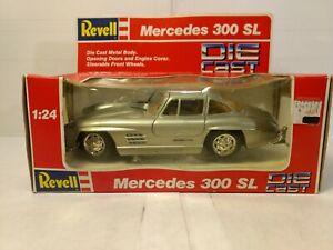 Modellbau Offizielle Website Revell Mercedes Benz 300 Sl Silbern 1:24 Skala-modelle #8602 Dc2586 Autos, Lkw & Busse