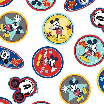 112cm wide Mickey mouse 100/% cotton bundles /& fabrics per 1//2 metre