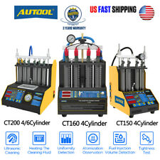 Ct150 Ct160 Fuel Injector Tester Cleaner Ultrasonic Heating Cleaning Machine