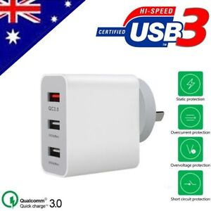 For-Huawei-P30-amp-P30-Pro-QC-3-0-Certified-3-Port-Fast-Charging-Wall-Adapter
