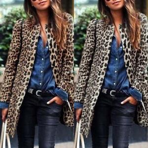 ZANZEA-Femme-Cardigans-Manche-Longue-Imprime-leopard-Simple-Casuel-Manteau-Plus