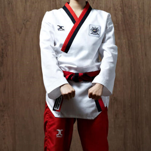 JCALICU POOMSAE Poom//WTF Poomsae Uniform For female