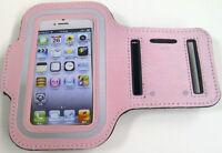 Verizon Iphone 5 5g Light Pink Sports Workout Running Gym Armband Strap Case