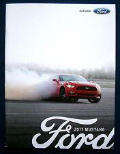 Prospekt brochure 2017 Ford Mustang * Shelby GT350 (USA)