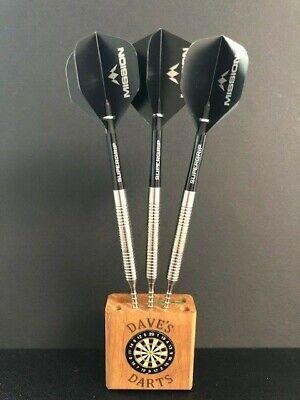 Utopian Infinity Rose Gold PVD Grip 90/% Tungsten Darts Set in 23gram