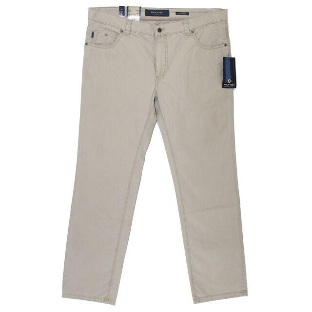 17274 PIONIER Herren Jeans Hose THOMAS Stretch cremebeige 42/32 D 28