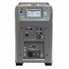 Fluke Calibration 9142 Dw 156 Field Dry Well Metrology Temp Calibrator