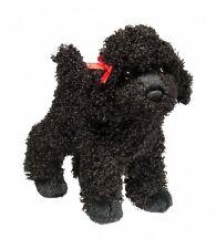 """Douglas GIGI BLACK POODLE Dog Puppy Plush Toy Stuffed Animal 8"""" Soft Cuddle NEW"""