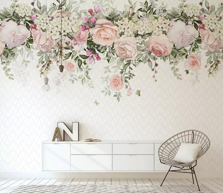 3D Wreath Leaf 743 Wall Paper Exclusive MXY Wallpaper Mural Decal Indoor Wall AJ