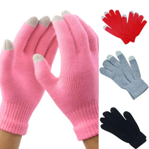 1 Paar DamenHerren Smartphone Touchscreen Winter Handschuhe für Warm Han w//
