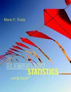 Elementary-Statistics-Using-Excel-by-Mario-F-Triola-2013-Hardcover-Mario-F-Triola-2013