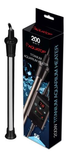 AQUATOP Titanium Heater with Digital Controller  200W  TH-C200
