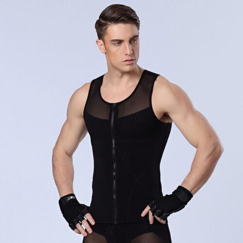 Homme best male shapewear slim shaper girdle corset gilet pour plat poitrine ventre