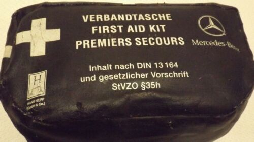 MERCEDES SLK GENUINE COMPLETE FIRST AID SET UNUSED IN ZIP CASE