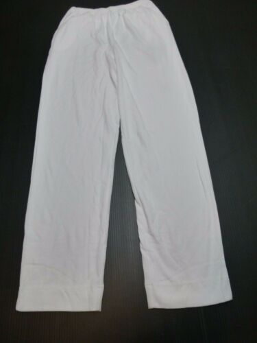 Blair Womens Size X-Large White Knit Casual Pants New Without Tags