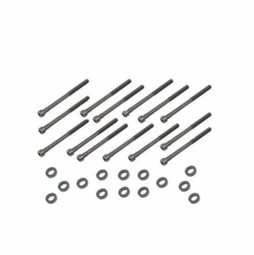For Mercedes 90-99 Cylinder Head Bolts Washers x14 12x160mm Engine Screw Stud