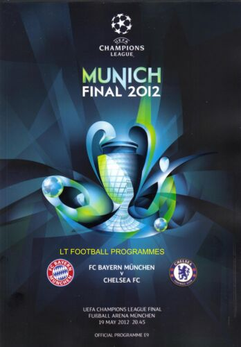 2012 CHAMPIONS LEAGUE FINAL CHELSEA v BAYERN MUNICH