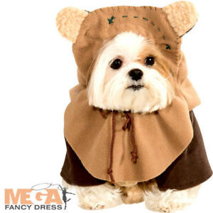 Ewok Dog Fancy Dress Star Wars Rebel Film Movie Scifi Puppy Pet
