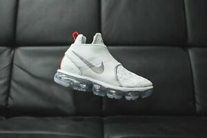 e7a11b5cb7 Nike Air Max Vapormax Chukka Slip PURE PLATINUM SILVER AO9326-001 8 ...
