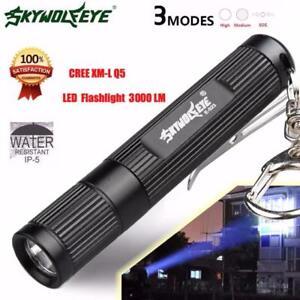 20000LM Q5 LED Headlamp AAA Battery Torch Flashlight Work Light Lamp JM