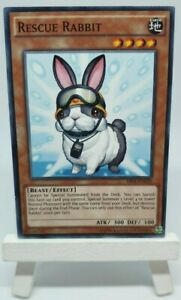 Yugioh Rescue Rabbit SR04-EN020 Common