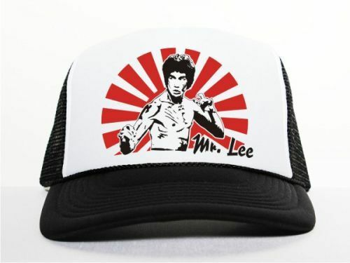 M6 Bruce Lee TRUCKER CAP NERO
