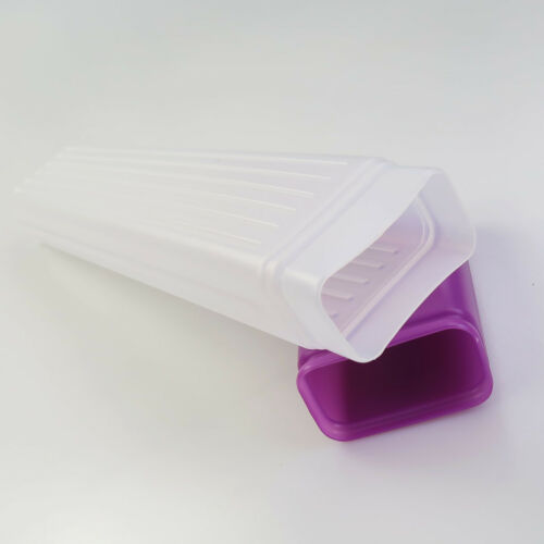 41cm Clear Plastic Knitting Needles Storage Case Box Crochet Hook Holder Bottle