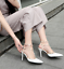 Womens-Patent-Rivets-Heels-T-Straps-Sandals-Pointed-Toe-Shoes-Stilettos-Zsell thumbnail 6