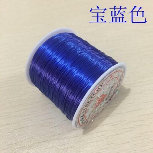 60M 1Reel Crystal Elastic Stretch Beading Elastic line String Jewelry Making DIY